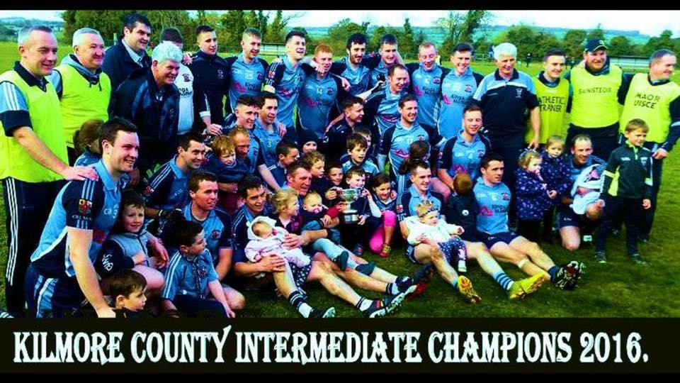 Congratulations To Kilmore GAA